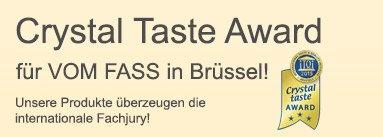 Auszeichnungen für die VOM FASS-Produkte