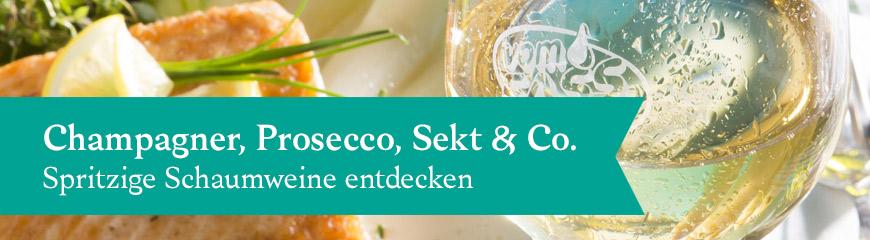 Champagner, Prosecco und Co.