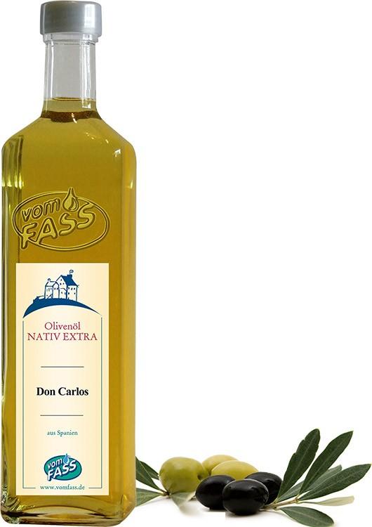 Don Carlos – natives Olivenöl extra BIO (Spanien)