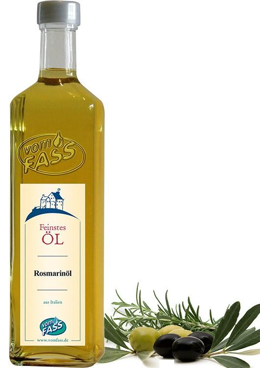 Natives Olivenöl extra mit Rosmarinextrakt