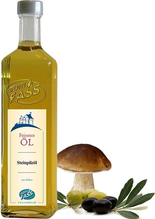 Natives Olivenöl extra mit  Steinpilzaroma