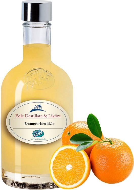 Orangen-Eierlikör