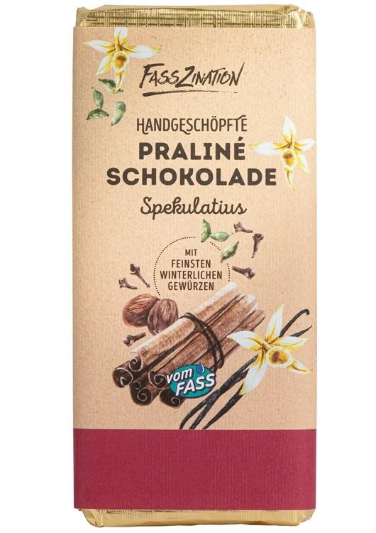 Praline-Schokolade Spekulatius