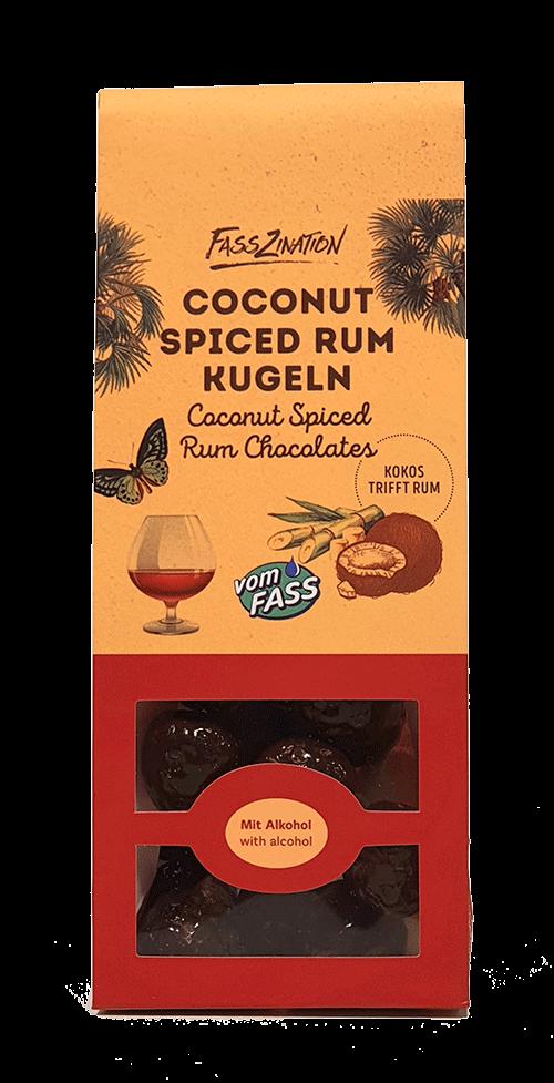 Coconut Spiced Rum-Kugeln