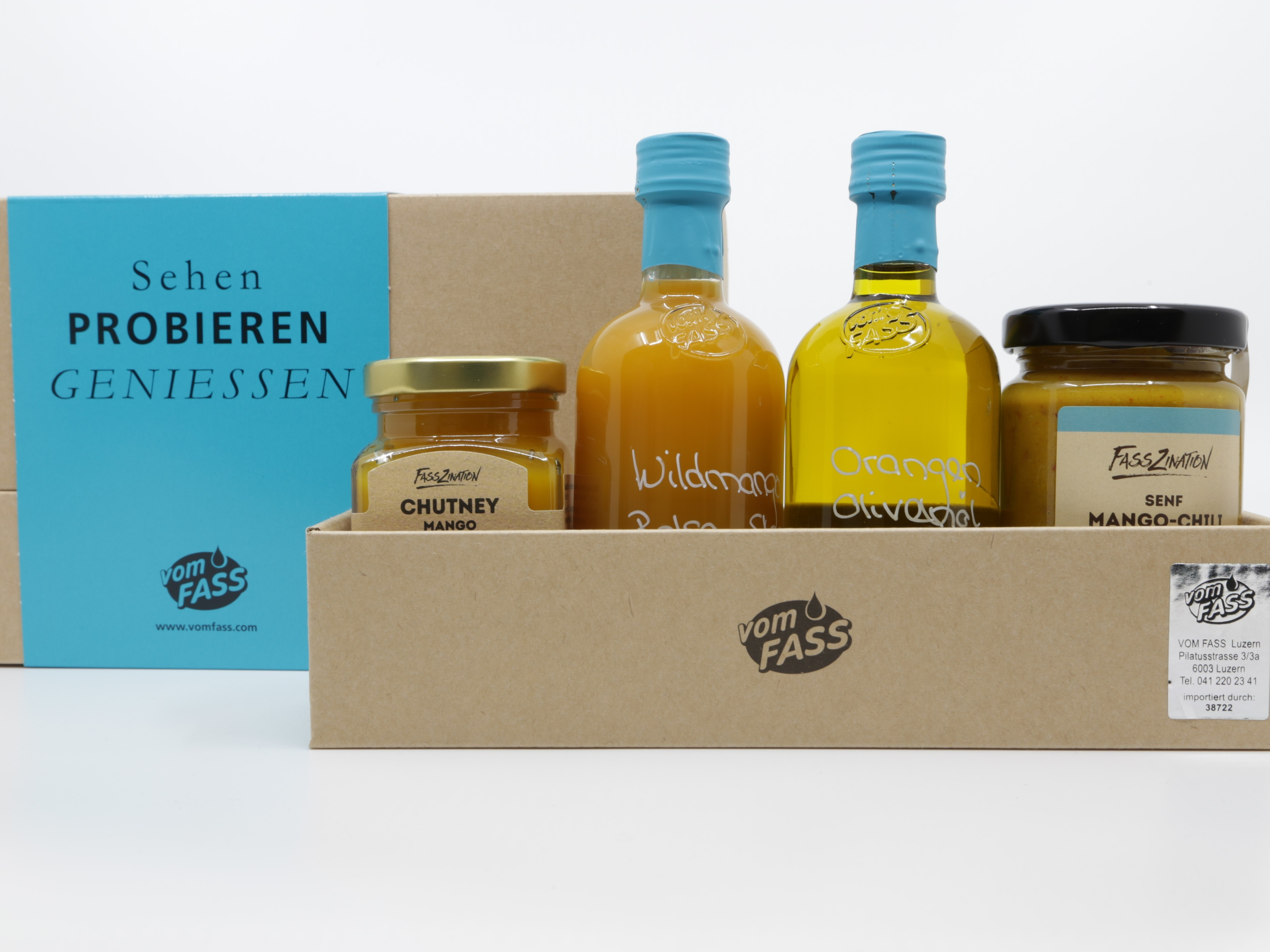 Geschenkbox Mango Edition