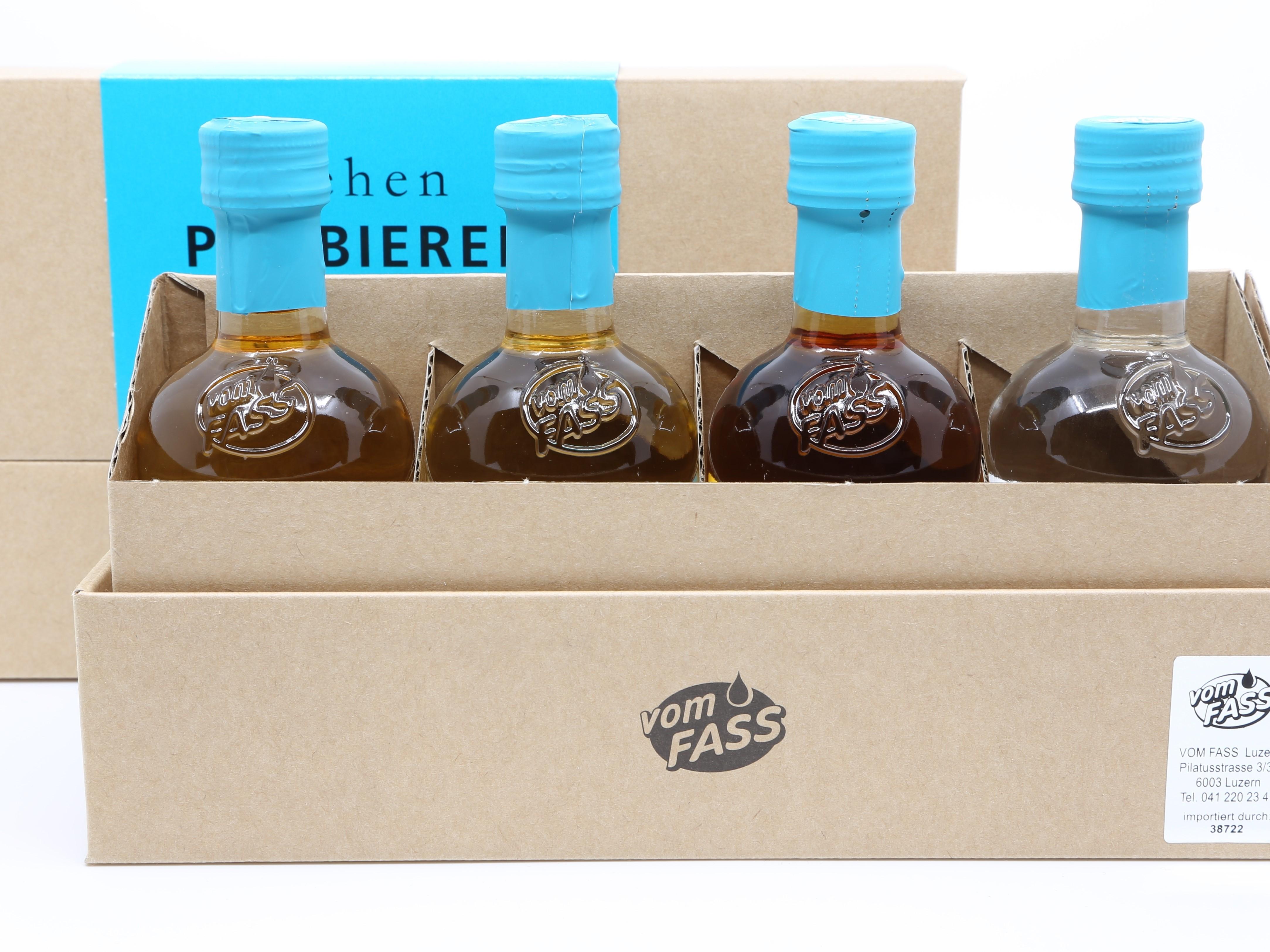 Geschenkset Rum-Nuss-Whiskey