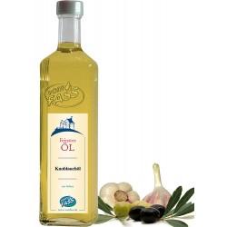 Natives Olivenöl extra mit  Knoblauchextrakt