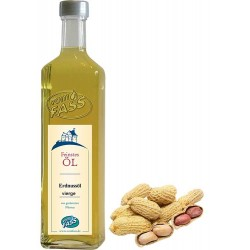 Erdnussöl vierge aus gerösteten Nüssen