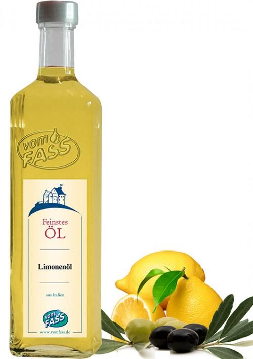 Natives Olivenöl extra mit  Zitronenaroma