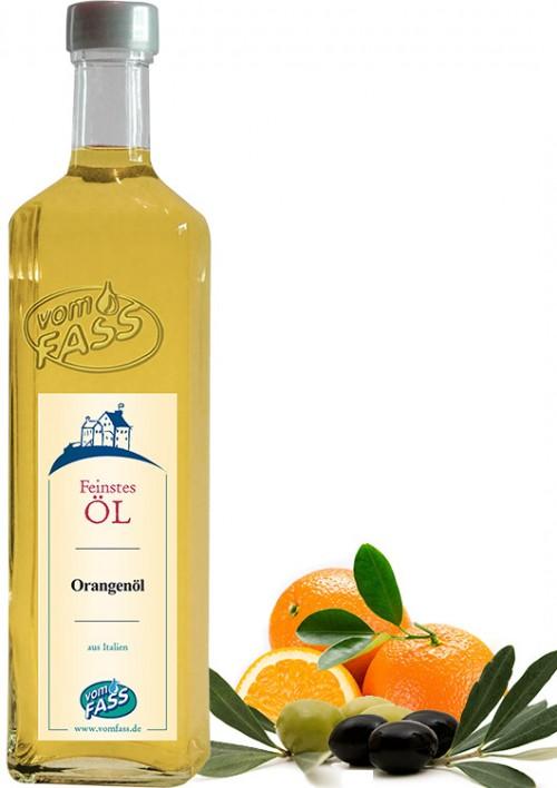 Natives Olivenöl extra mit  Orangenaroma