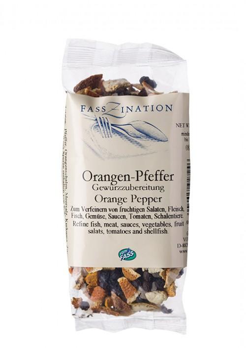 Orangen-Pfeffer Gewürzzubereitung im Nachfüllbeutel