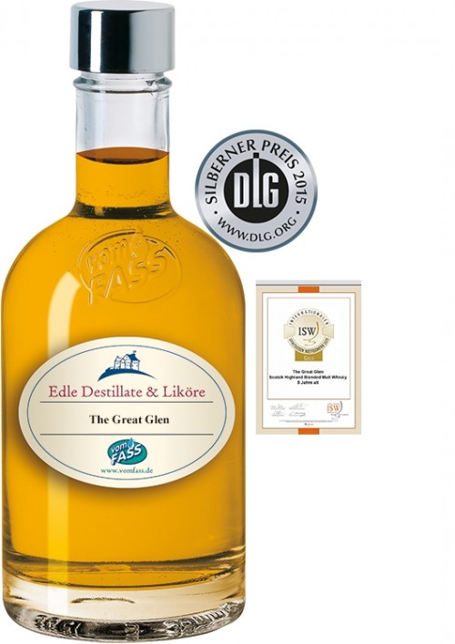 "Highland Blended Malt Whisky, ""The Great Glen"", 8 Jahre"