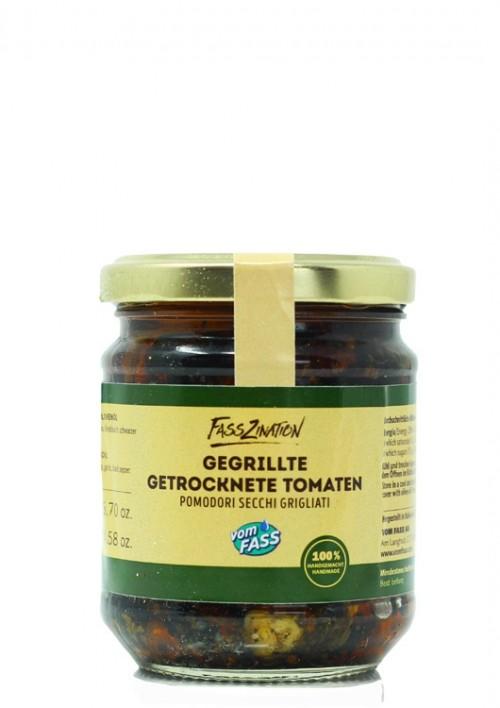 Gegrillte, getrocknete Tomaten