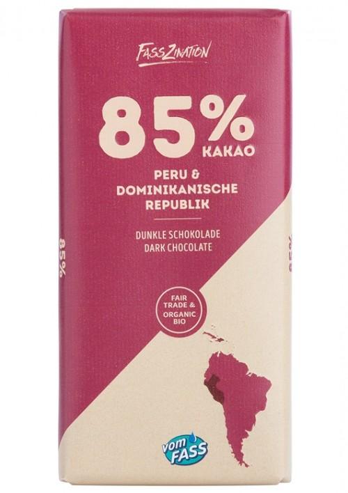 Peru und Dominikanische Republik 85 % Kakao