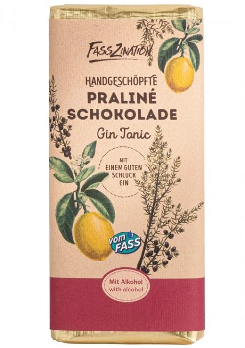 Praline-Schokolade Gin Tonic
