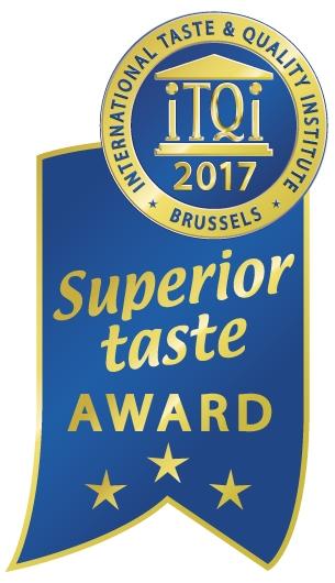 3 Sterne beim Superior Taste Award